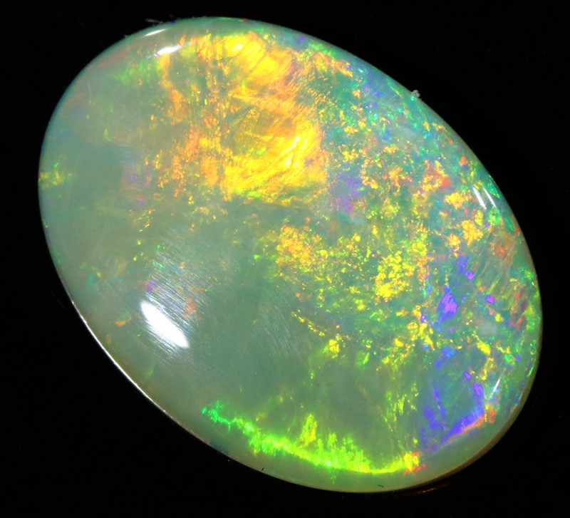 3.07Cts  Clean White Fire Opal  SU1361