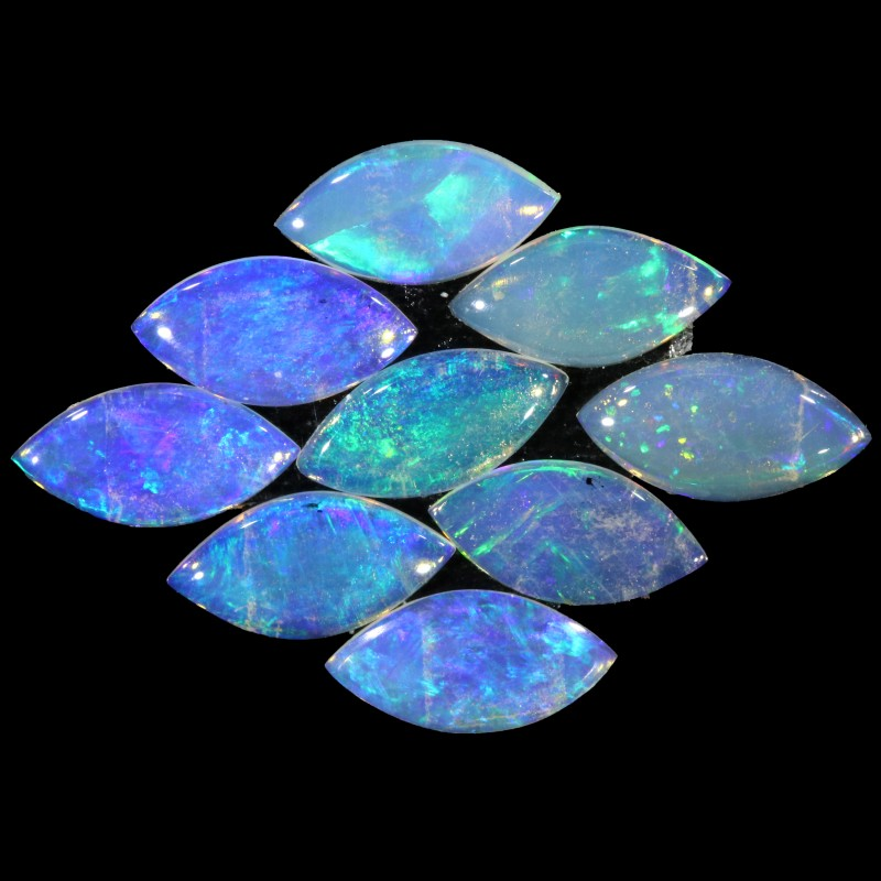 2.52 CTS  PIECES CALIBRATED OPAL PARCEL GREAT COLOR PLAY- A113