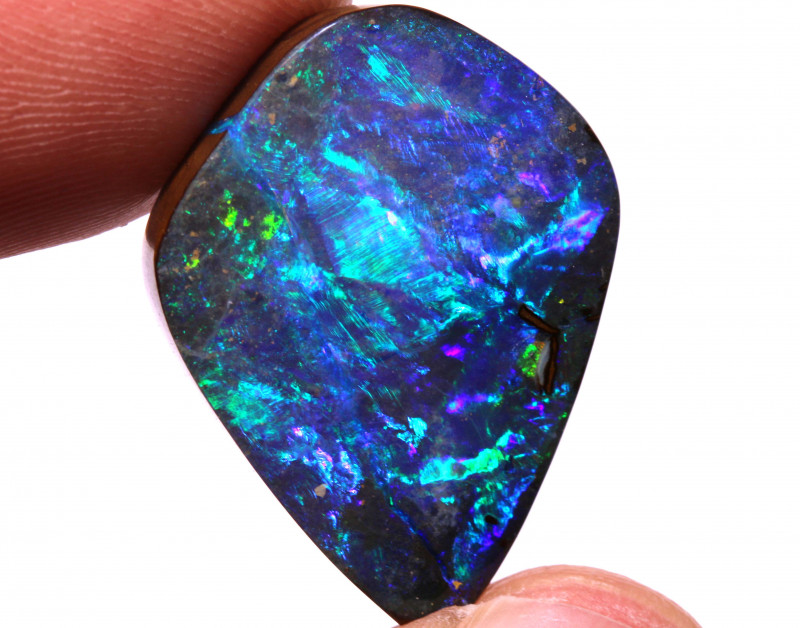 28.30cts Boulder Opal Polished Stone  INV-620  GC - investmentopals