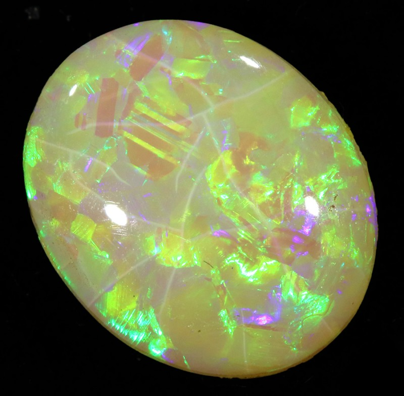 5.35Cts TREATED Crystal Opal SU1453