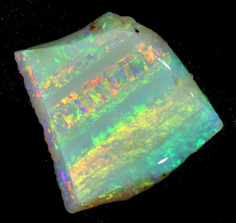 6.50Cts Mintabie opal slices SU1469