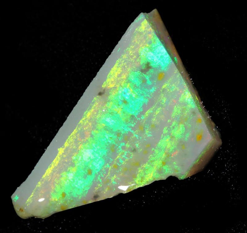 5.90Cts Mintabie opal slices SU1472