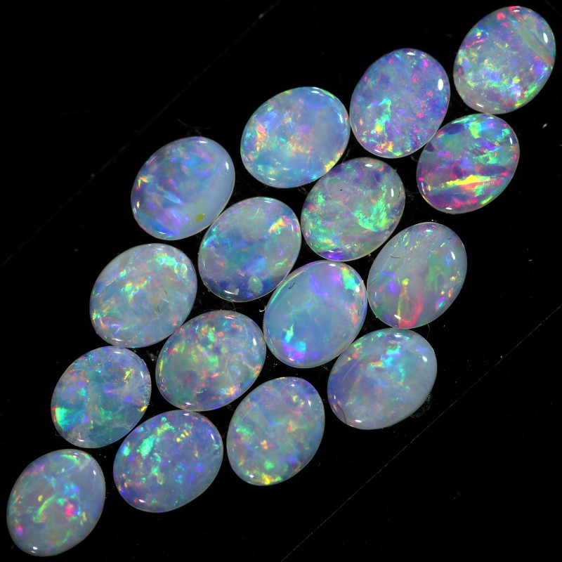 2.51 CTS  PIECES CALIBRATED OPAL PARCEL GREAT COLOR PLAY- A104