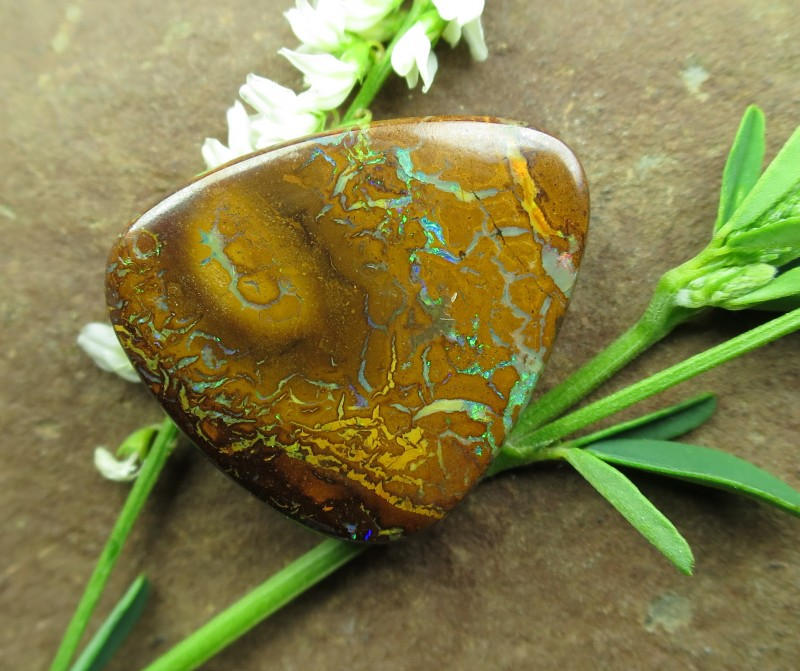 "24cts,""BOULDER MATRIX OPAL~WE ARE MINERS"""