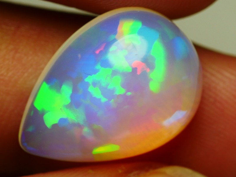 7.45 CRT CRYSTAL CLEAR FLORAL PUZZLE NEON DELUXE PLAY COLOR WELO OPAL-