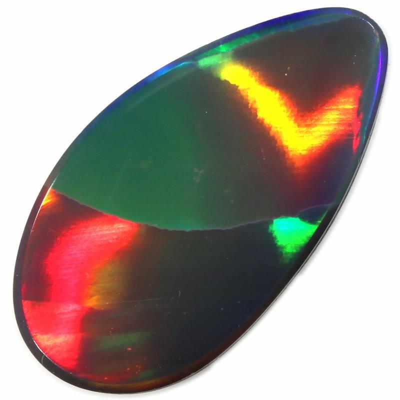 2.15 CTS  GEM OPAL DOUBLET FROM LIGHTNING RIDGE. [SEDA1360]SAFE