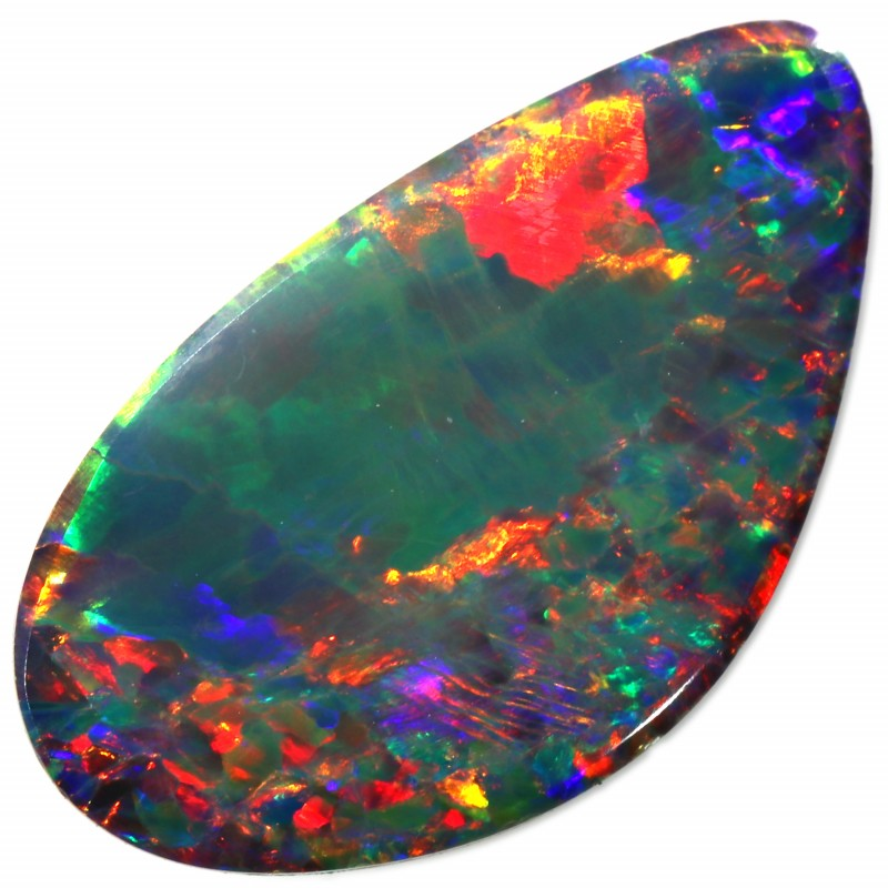 2.10 CTS  GEM OPAL DOUBLET FROM LIGHTNING RIDGE. [SEDA1362]SAFE