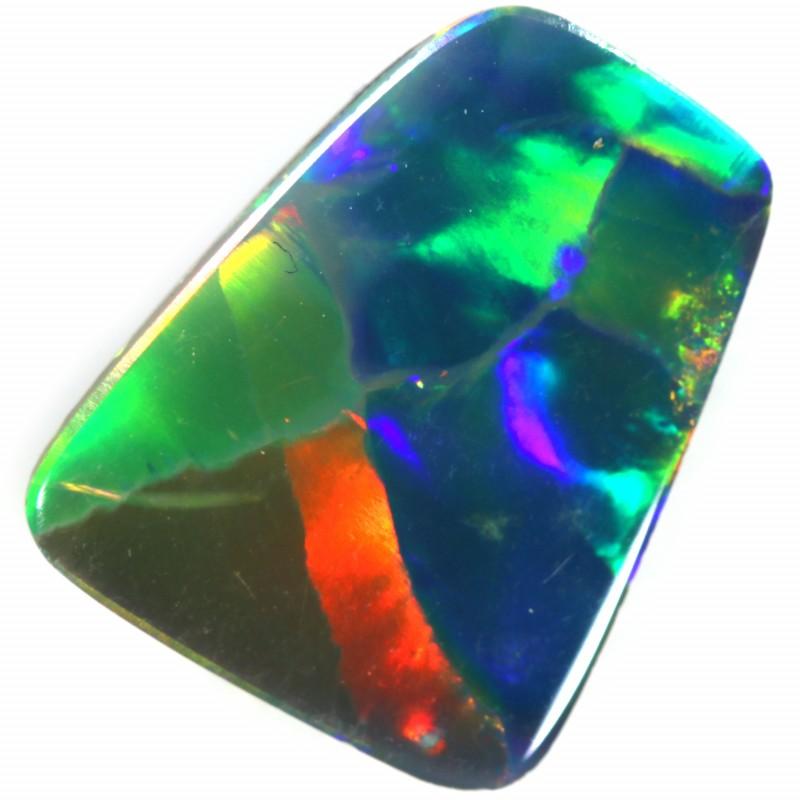 2.40 CTS  GEM OPAL DOUBLET FROM LIGHTNING RIDGE. [SEDA1380]SAFE