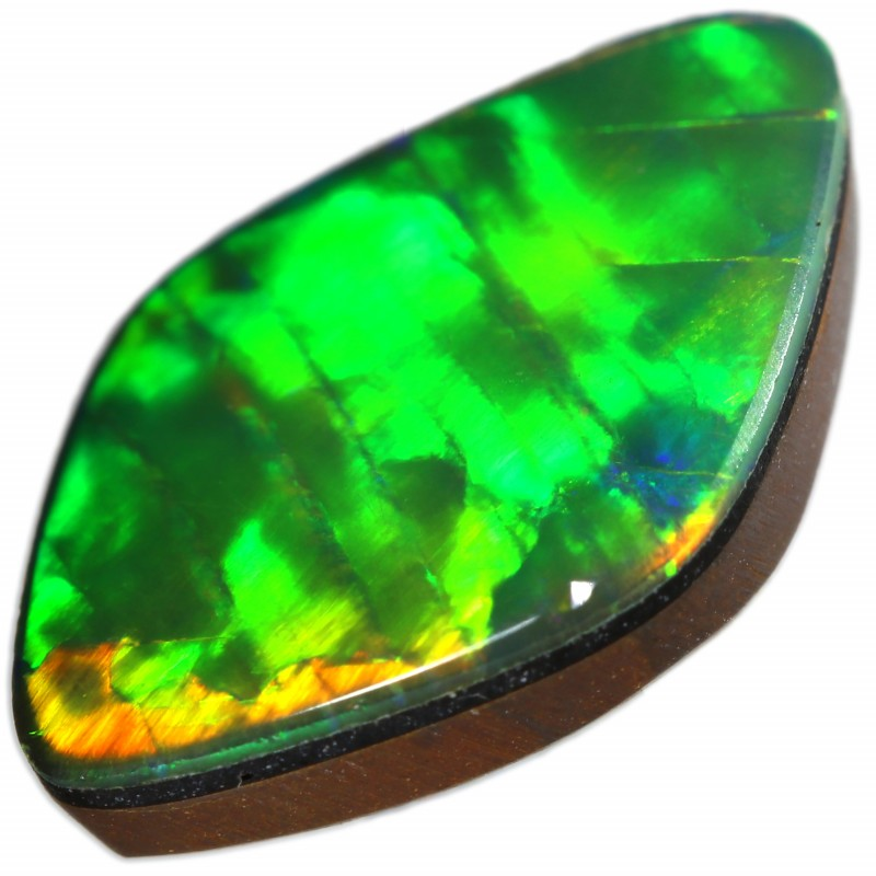 2.45 CTS  QUALITY OPAL DOUBLET FROM LIGHTNING RIDGE. [SEDA1411]SAFE