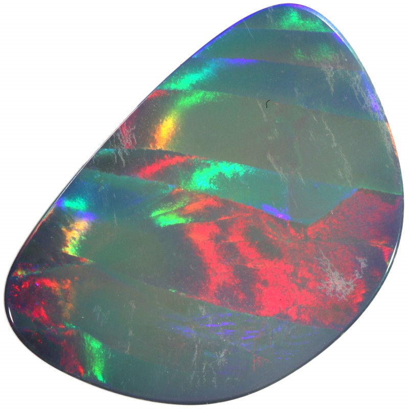 16.55 CTS  QUALITY OPAL DOUBLET FROM LIGHTNING RIDGE. [SEDA1418]SAFE
