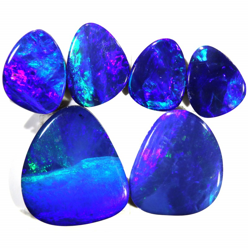 5.42 CTS OPAL DOUBLET 6 SET- CALIBRATED [SEDA1461]