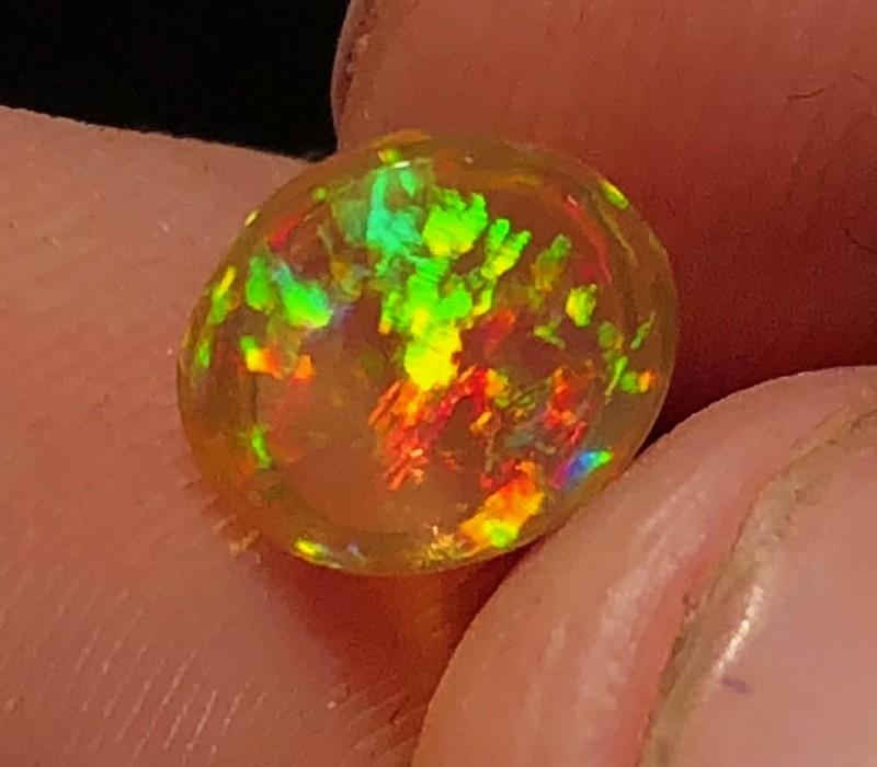 GEM Grade Mexican 1.145ct Crystal Opal (OM)