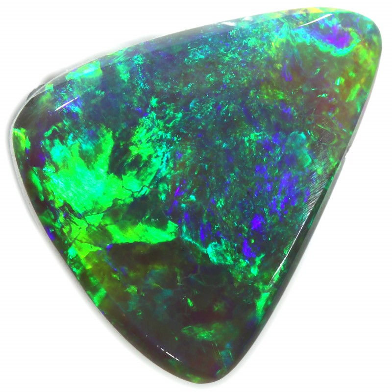 BLACK OPAL FROM DOWN UNDER AUSTRALIA NICE BRIGHT STONE 1.20C A1974