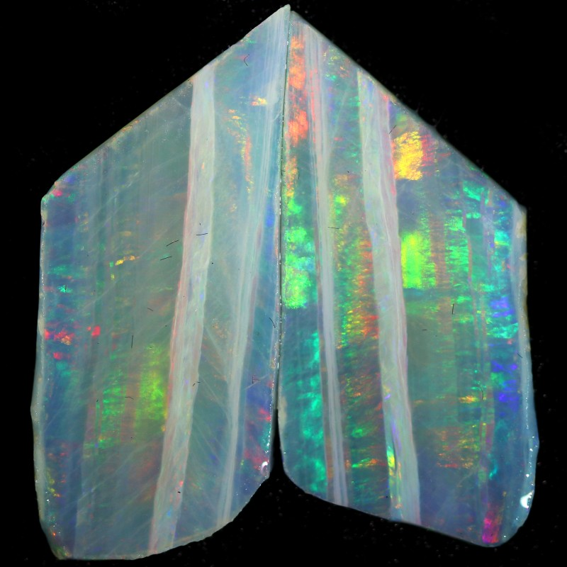 5.80 CTS SLICED  ROUGH OPAL FROM COOBER PEDY [BR6549]safe