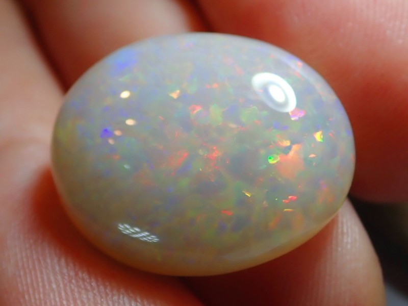 7.5ct Bright Natural Ethiopian Welo Supreme Opal