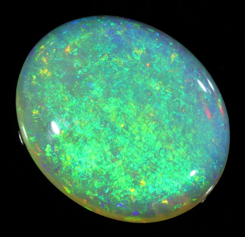 3.32CTS COOBER PEDY OPAL GREAT COLOUR PLAY  S444