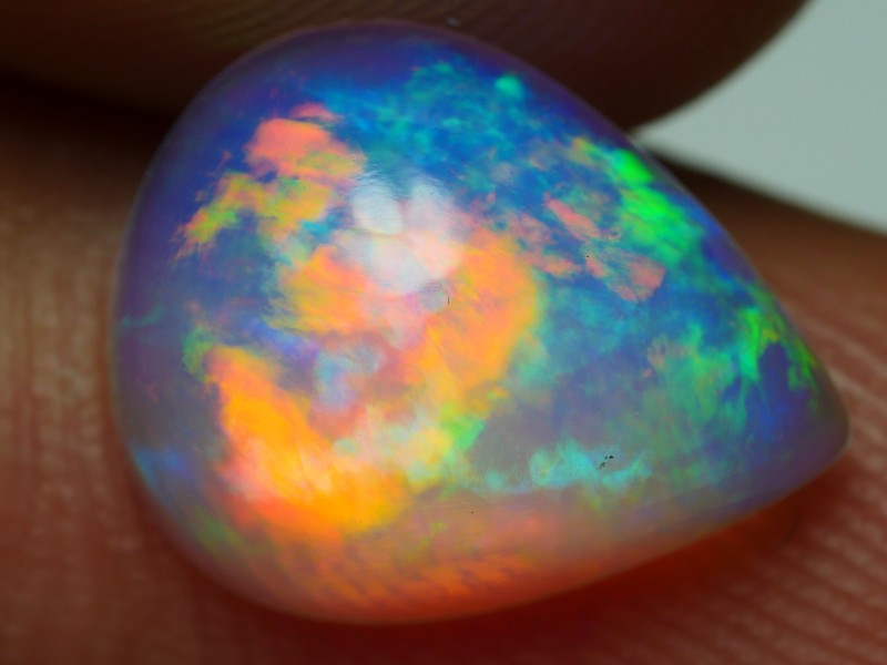 1.60 CRT GORGEOUS BROADFLASH FLORAL PLAY MULTICOLOR WELO OPAL