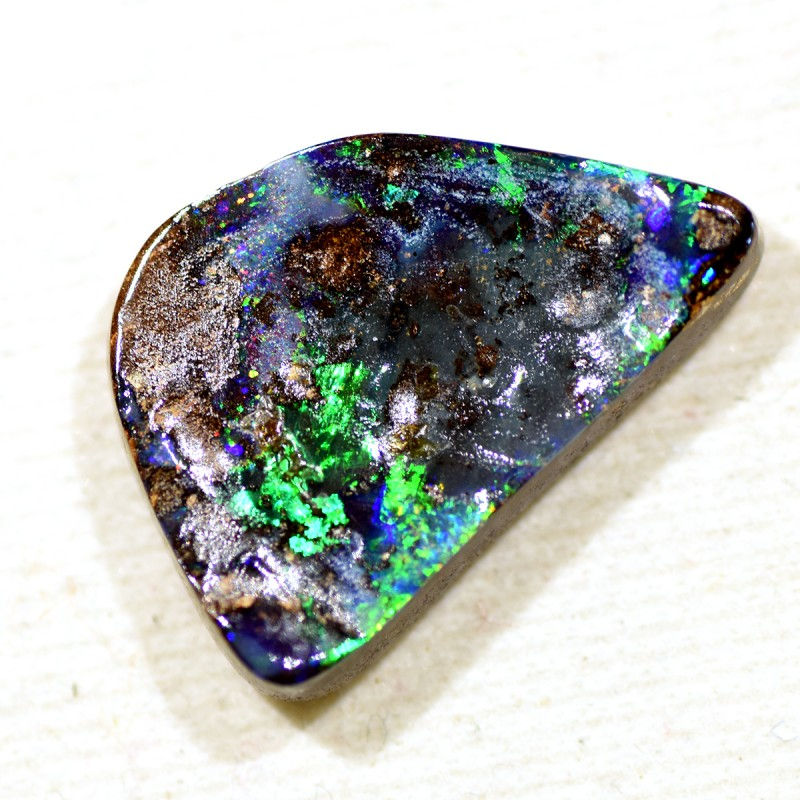 9.40cts Boulder Opal - Winton - Bright Face (RB854)