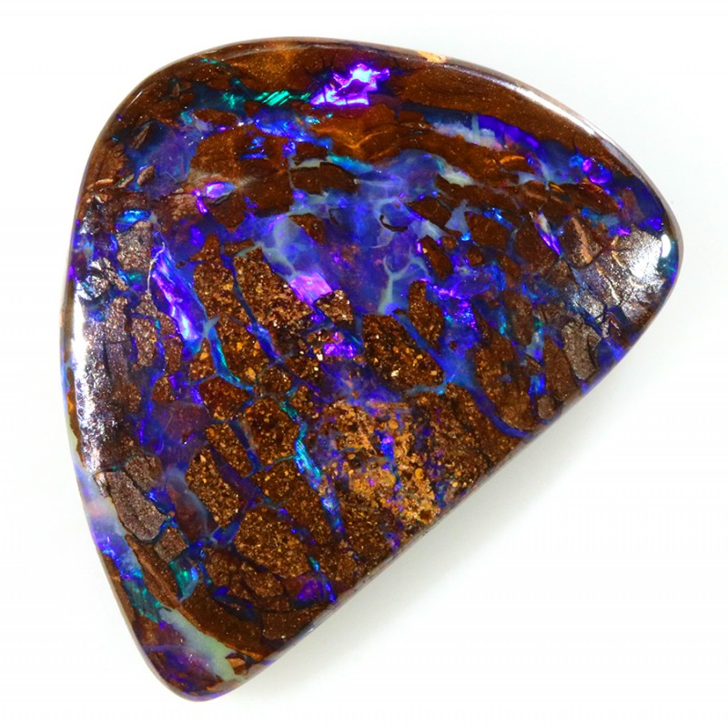 13.80CTS BOULDER OPAL SHOWING GREAT COLOR PLAY S493