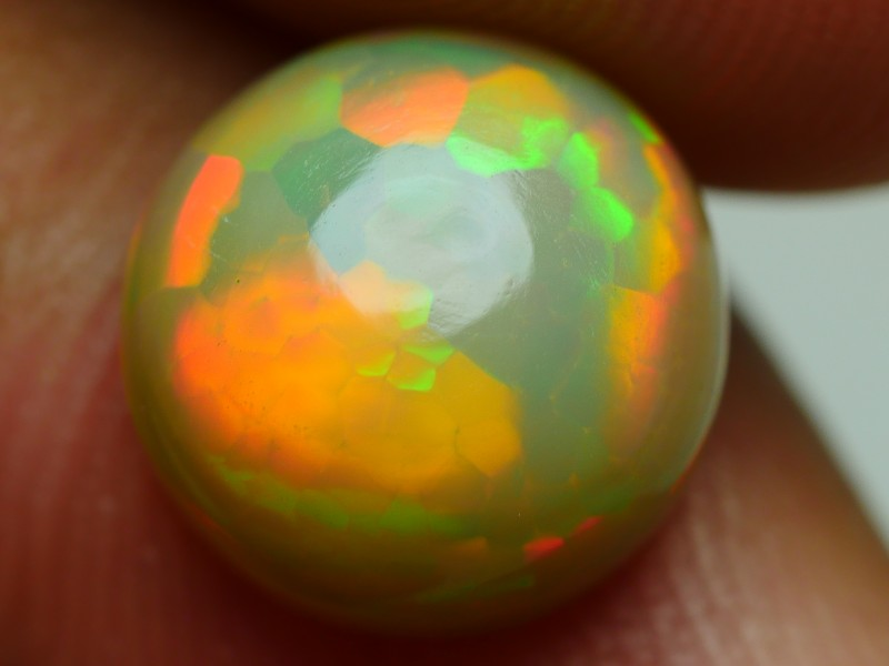 2.10 CRT DARK BASE ROUND 3D SNAKE SKIN NEON PUZZLE WELO OPAL