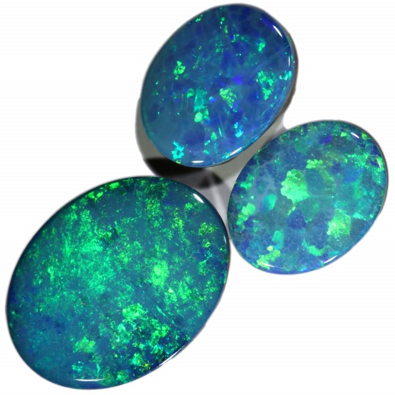 4.25 Cts parcel gem Opal Doublets  SU1534