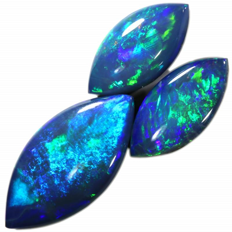 3.76 Cts parcel gem Opal Doublets  SU1541