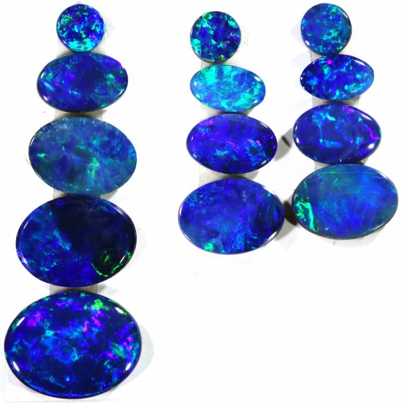 5.47 Cts parcels gem Opal Doublets SU1572