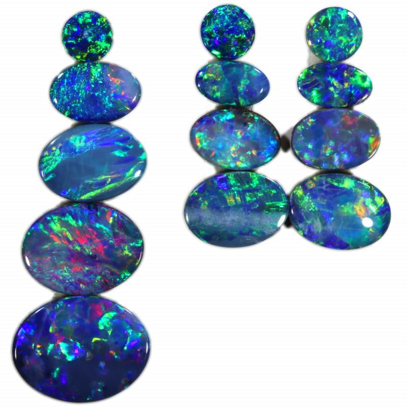 5.39 Cts parcels gem Opal Doublets SU1574
