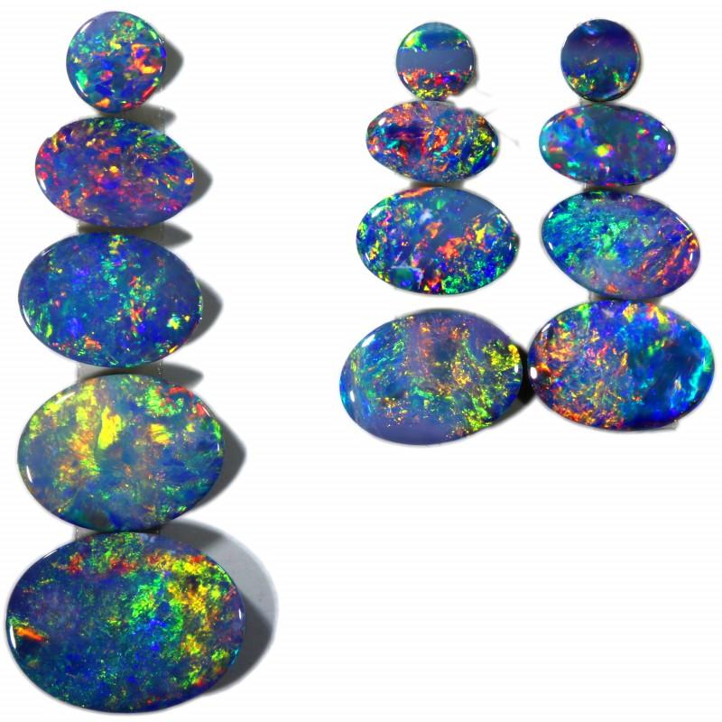 3.97 Cts parcels gem Opal Doublets SU1577