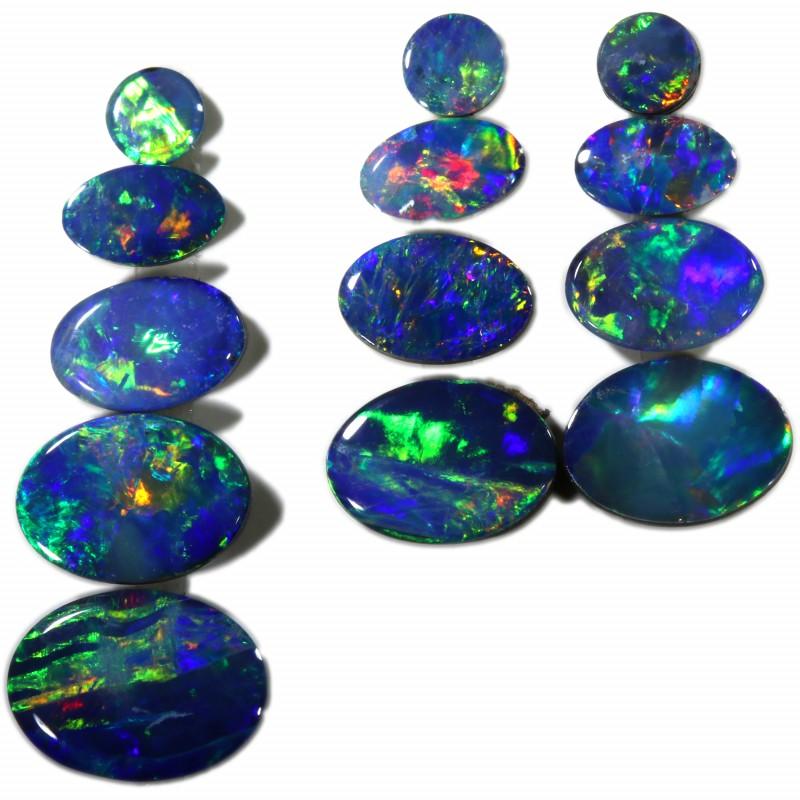 3.94 Cts parcels gem Opal Doublets SU1581