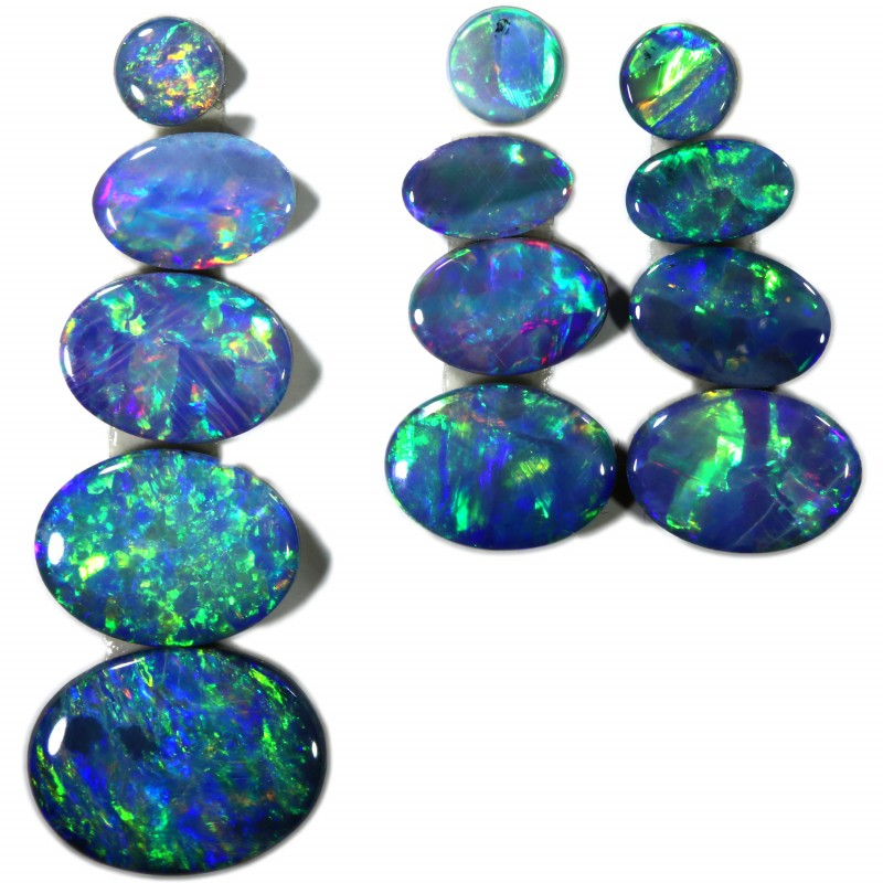 4.76 Cts parcels gem Opal Doublets SU1585