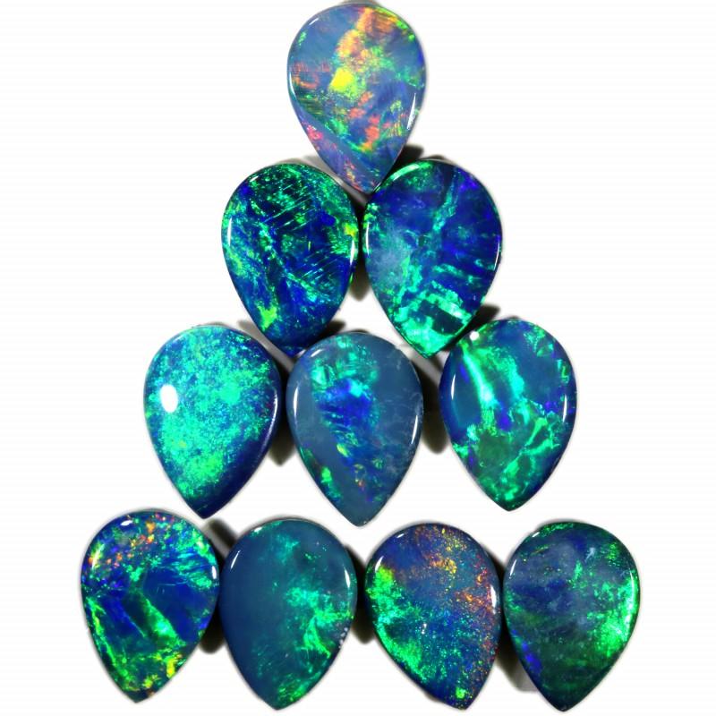 4.60 Cts parcels gem Opal Doublets SU1593
