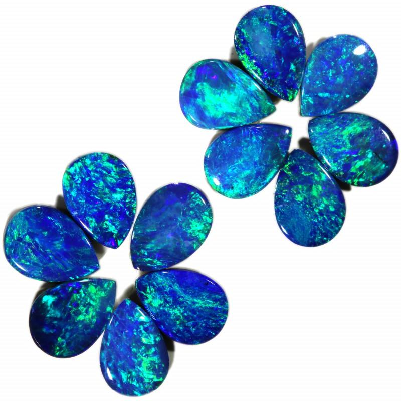 4.91 Cts parcels gem Opal Doublets SU1596