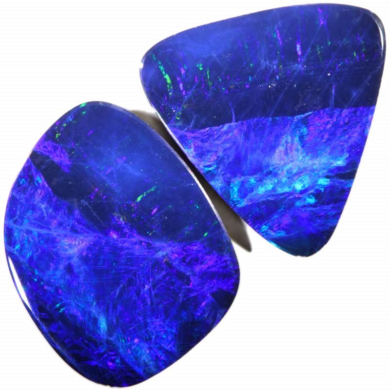 12.69 Cts parcels gem Opal Doublets SU1603