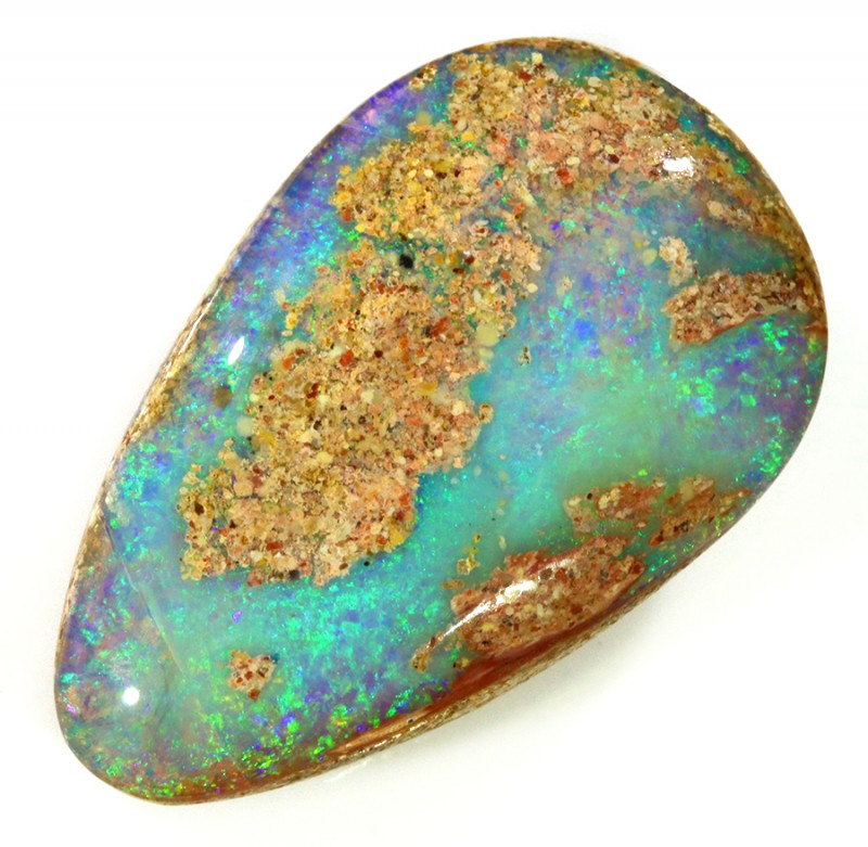 40.90Cts Pipe opal in creamy potch WS100