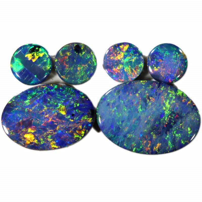 3.77 Cts parcels gem Opal Doublets SU1619