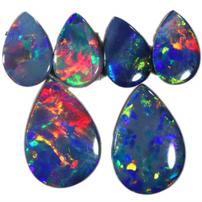 2.34 Cts parcels gem Opal Doublets SU1625