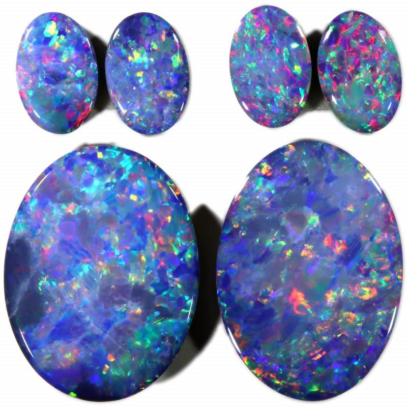 5.18 Cts parcels gem Opal Doublets SU1627