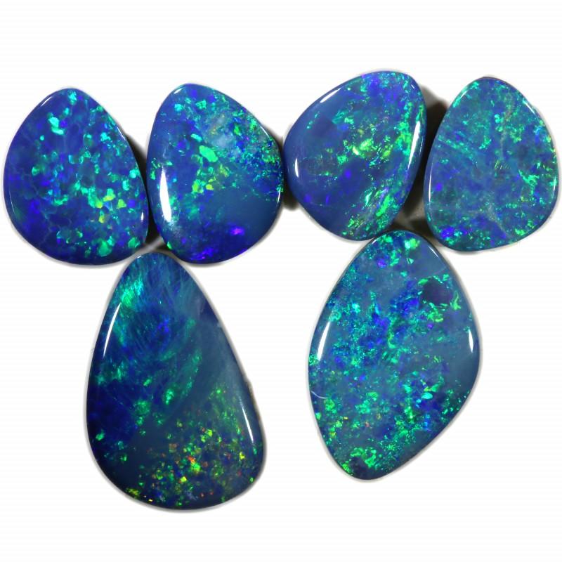 3.29 Cts parcels gem Opal Doublets SU1629