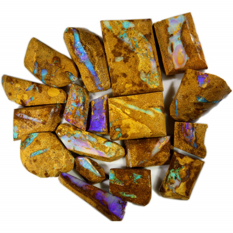 558.00 CTS BOULDER PIPE OPAL ROUGH PARCEL [BY7437]