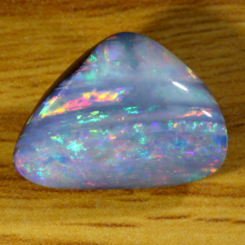 8.95Cts Shell Patch Opal doublet cabochon WS226
