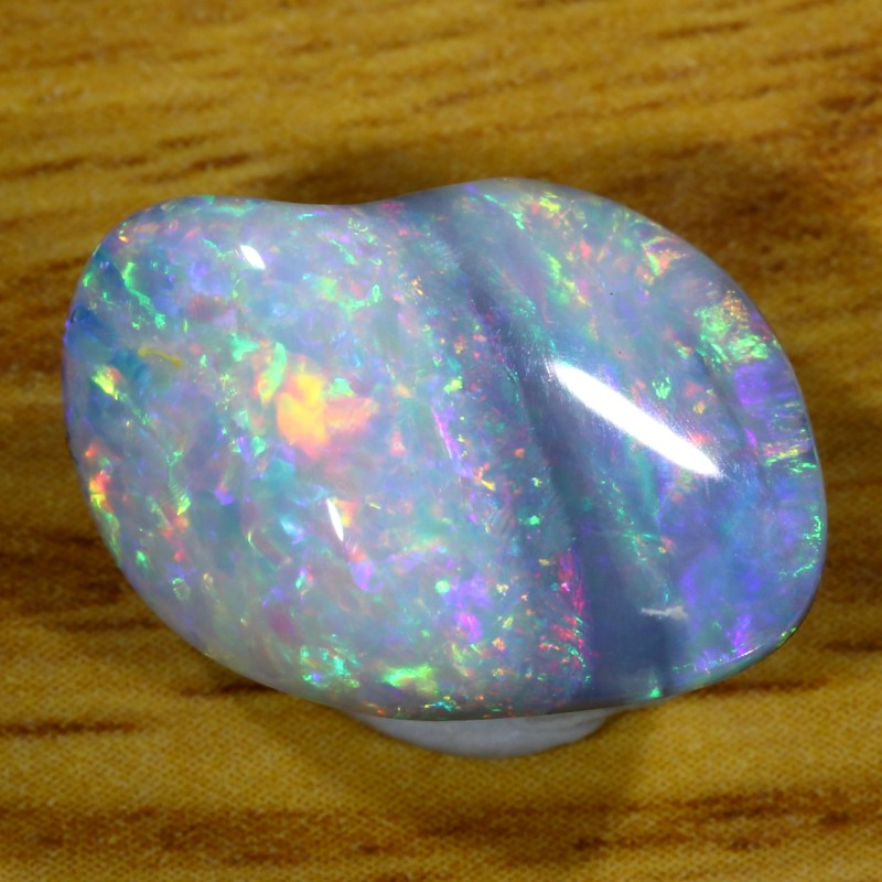 7.2Cts Shell Patch Opal doublet cabochon WS233