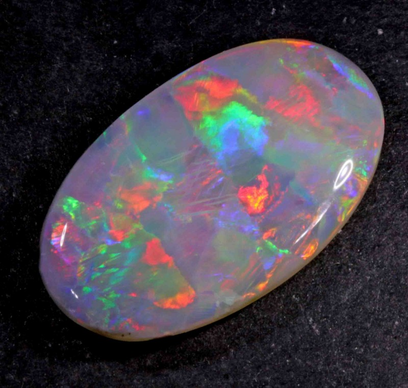FREE SHIPPING  7.20 CT  VERY/SUPER BRIGHT DARK OPAL FROM LR