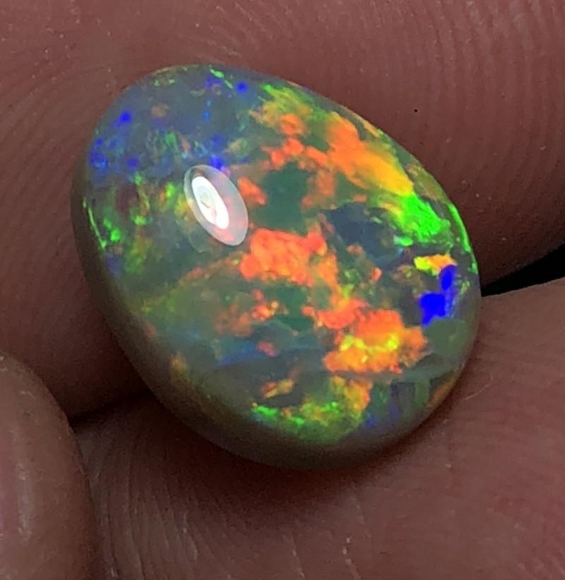 7.10ct Lightning Ridge Gem Dark Opal LRS173