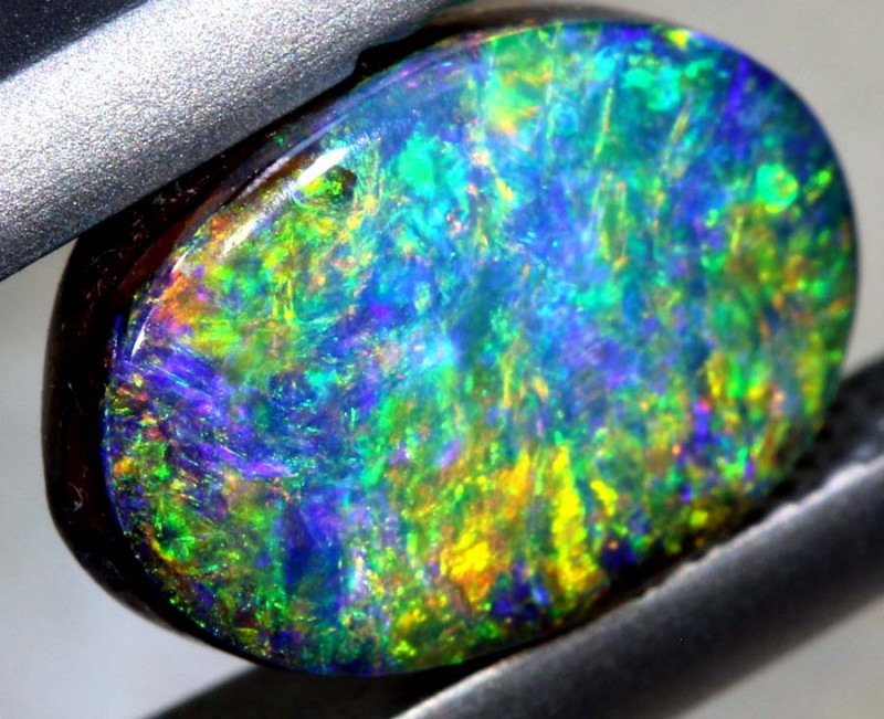 1.80-CTS QUALITY BOULDER OPAL POLISHED STONE  INV-1006
