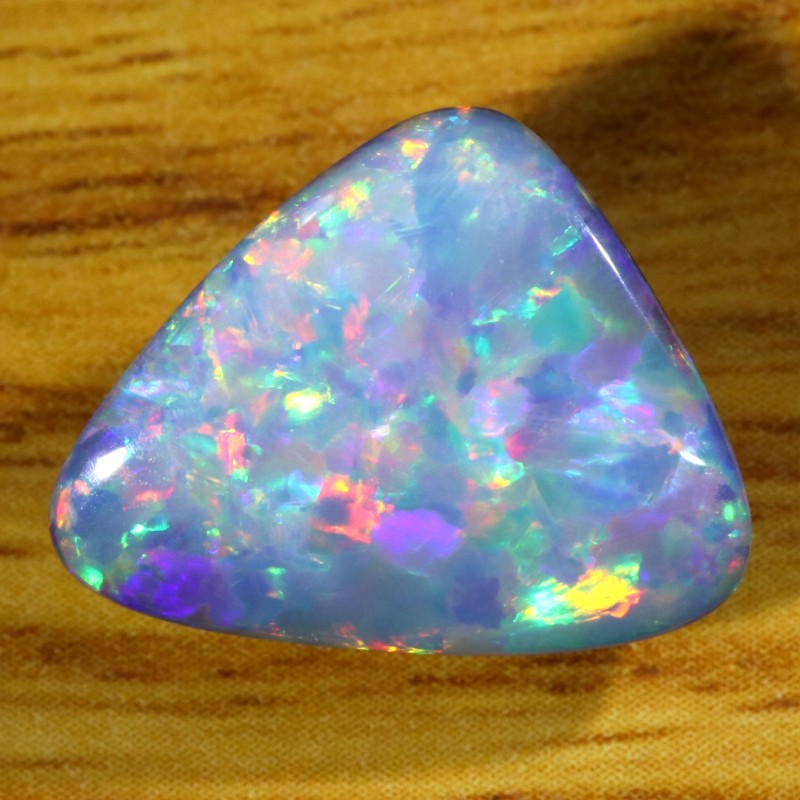 5.55Cts Shell Patch Opal doublet cabochon WS248