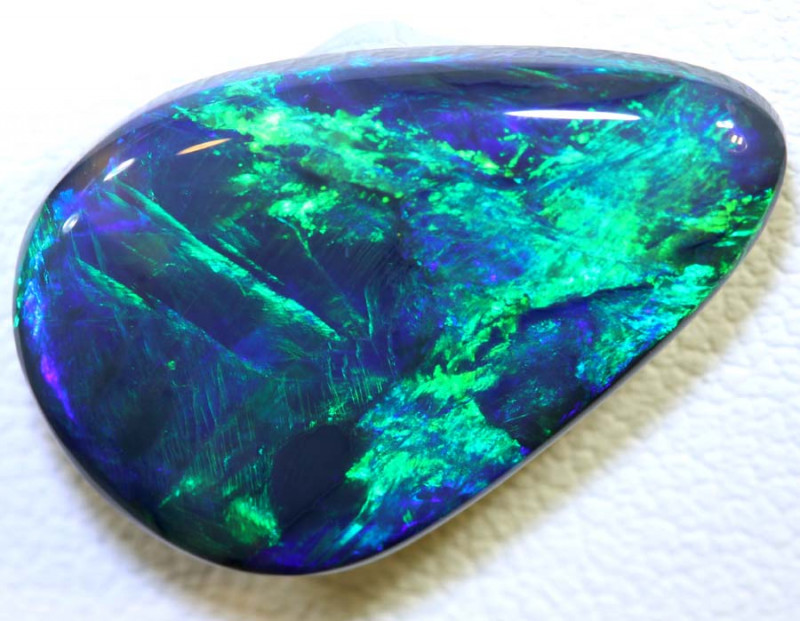 N1 -8.90 CTS QUALITY BLACK OPAL POLISHED STONE INV-1015