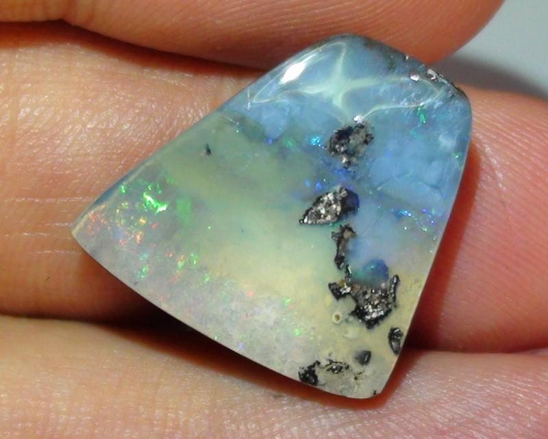 12.90 ct Boulder Opal With Pastel Multi Color