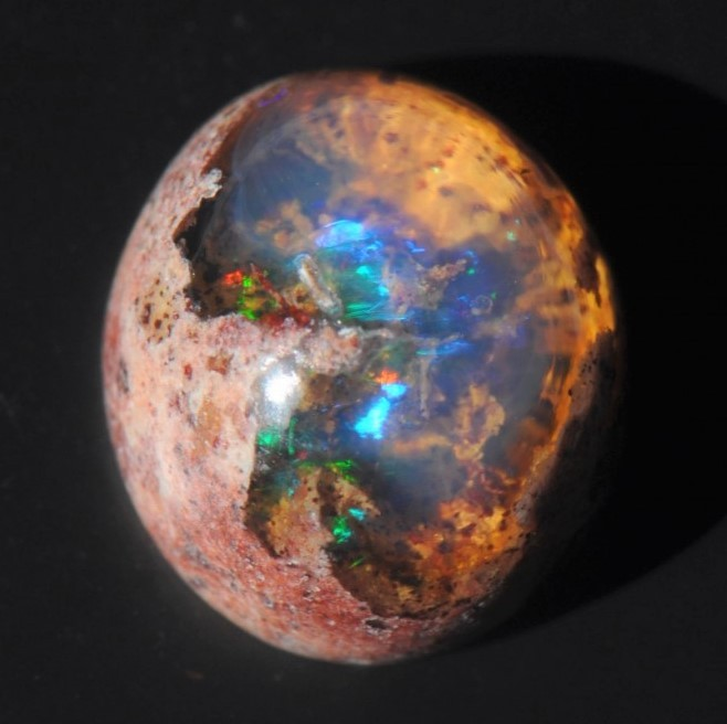 3.35ct  Mexican Cantera Fire Opal Specimen