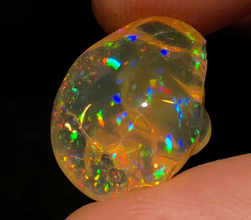8.9ct Supreme Mexican Crystal Opal (OM)